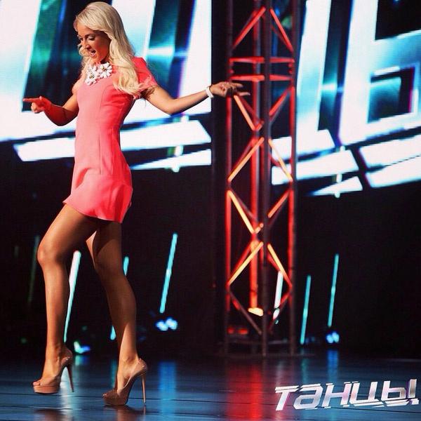 Ольга Бузова показывает, как она может танцевать
