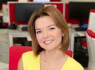 Украинская телеведущая потеряла зуб в прямом эфире