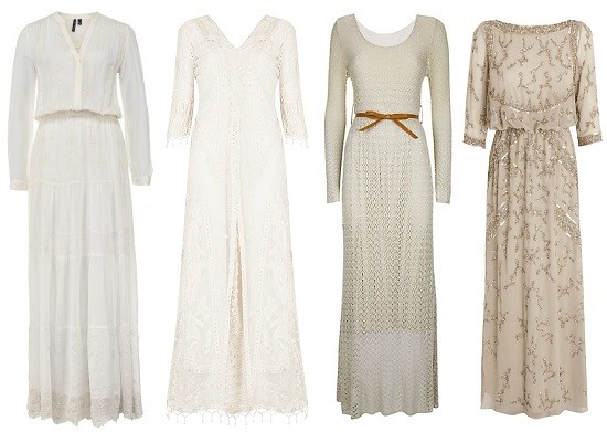 Слева направо: MANGO, Top Shop by Kate Moss, New Look, Jenny Packman