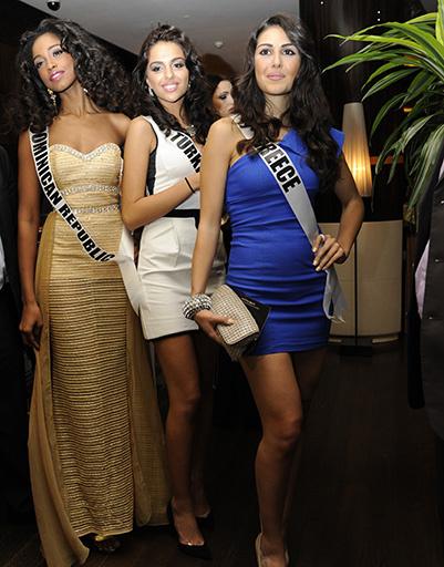 Мисс Доминикана, мисс Турция и мисс Греция