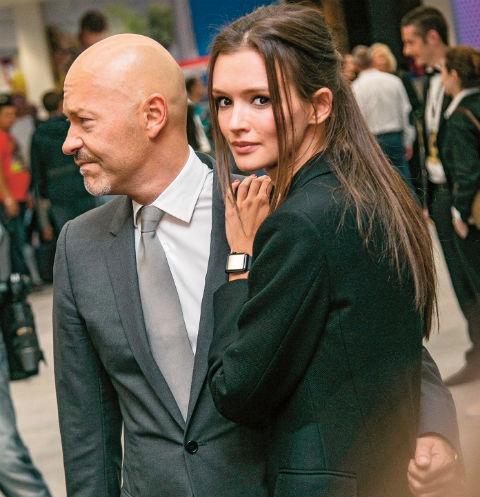 Бондарчук и Андреева вместе уже больше года, но долго скрывали свой роман