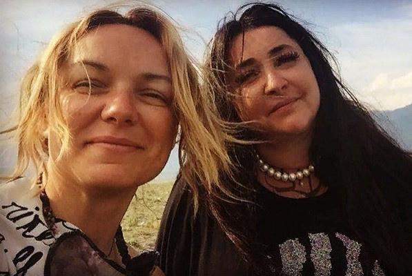 Елена Кипер и Лолита когда-то хорошо общались