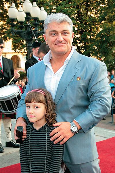 Владимир Турчинский с дочкой