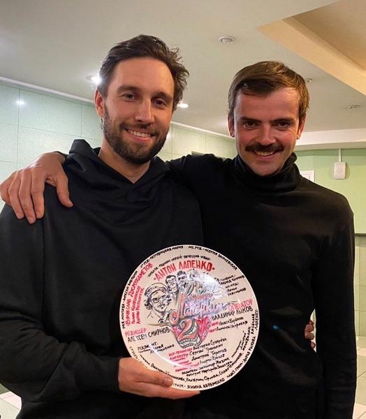 Алексей крепко дружит с Антоном Лапенко