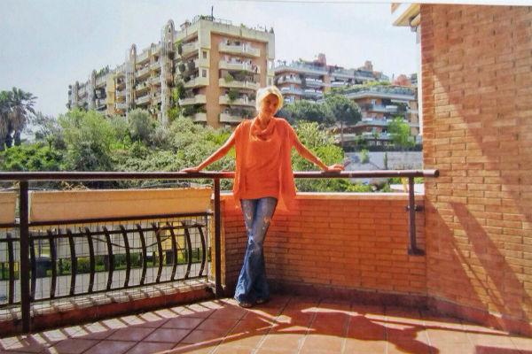 Актриса любит проводить время в своей римской квартире