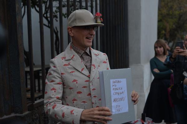 Андрей Бартенев выбрал для праздника оригинальный костюм