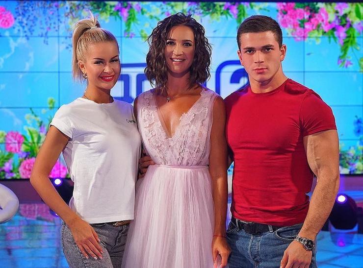 Участники телешоу с Ольгой Бузовой