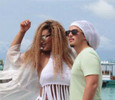 Муж Корнелии Манго увез ее на райский остров. ФОТО