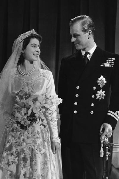 В 1947 году Елизавета вышла замуж за Филиппа Маунтбеттена