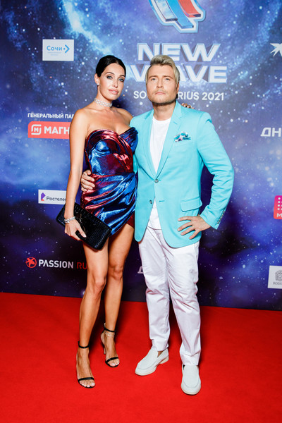 Николай Басков со спутницей Екатериной Давыдовой