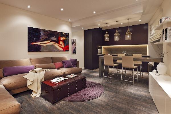 Стиль: Ход конем: как создать удачный дизайн для небольшой квартиры – фото №2