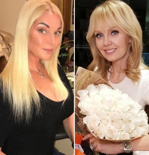 Анастасия Волочкова и Валерия