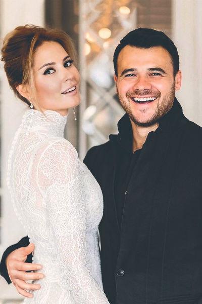 Летом певец женился на возлюбленной – модели Алене Гавриловой
