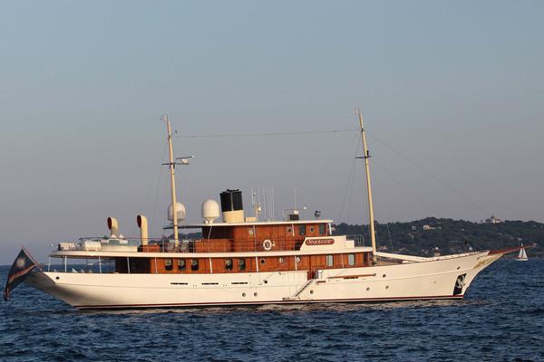 Писательница всего восемь месяцев являлась владелицей роскошной яхты