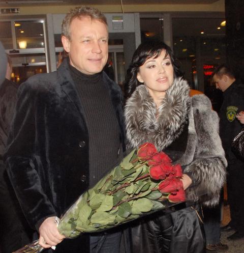 Сергей Жигунов и Анастасия Заовротнюк