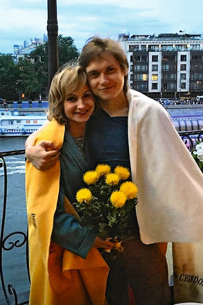 Ольга Прокофьева с сыном