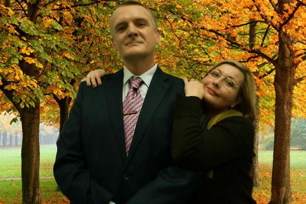 Ольга Шеховцова с актером Сергеем Пиоро