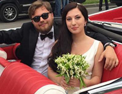Леонид Парфенов и Елена Чекалова женили старшего сына