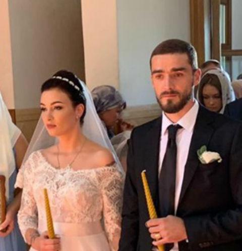 Анастасия Приходько с супругом