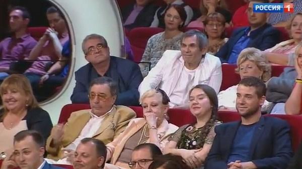 В числе гостей передачи было много знаменитостей