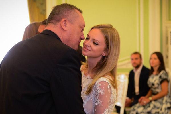 Милана Кержакова с отцом