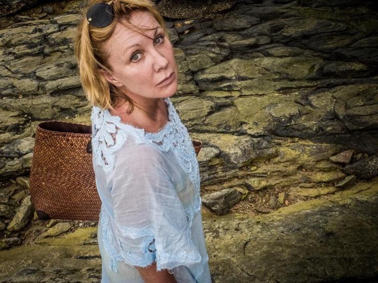 Елена Яковлева предпочитает подальше держаться от воды
