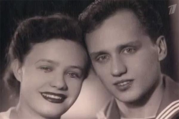 Владимир Мулявин с женой Лидией