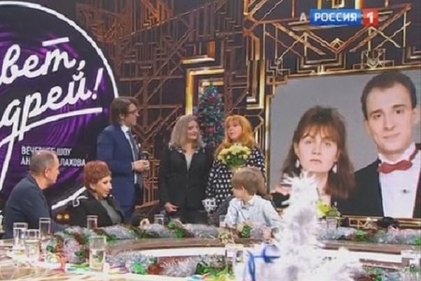 Ещенко на эфире передачи «Привет, Андрей»