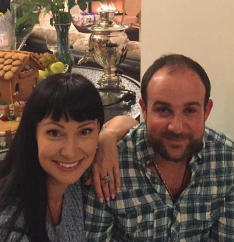 Нонна Гришаева с супругом Александром Нестеровым