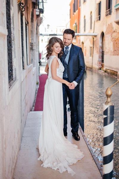 Евгений Пронин увез супругу в Венецию