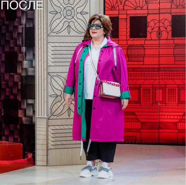 Новый имидж вместо черных балахонов и помады цвета фуксии: мама Сергея Лазарева стала героиней «Модного приговора»