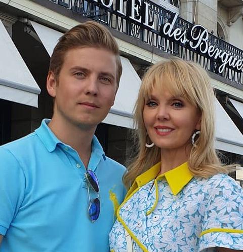Валерия со старшим сыном Артемием Шульгиным