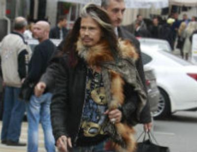 Стивен Тайлер обновил гардероб в Москве