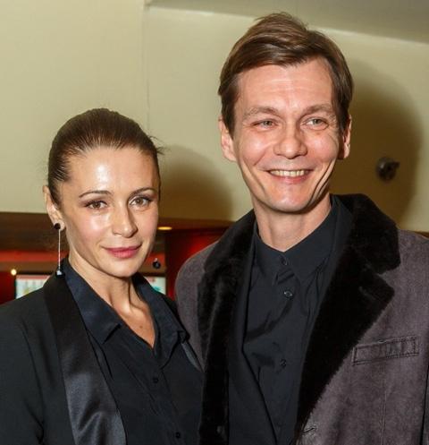 Оксана Фандера и Филипп Янковский