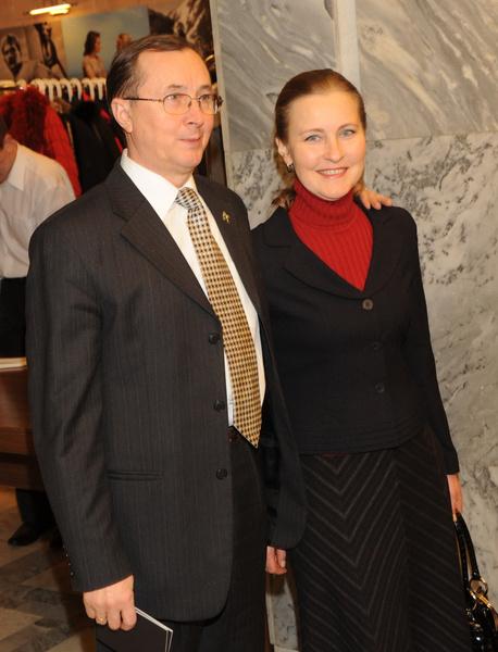 Бурляев с третьей супругой, актрисой Ингой Шатовой