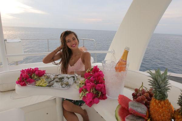 Ведущая готова возвращаться на Бали снова и снова
