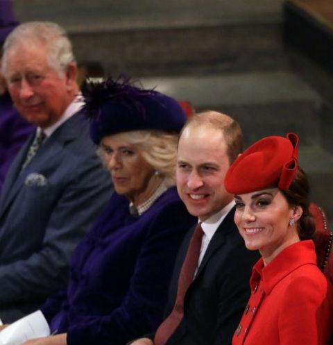 Члены королевской династии часто устраивают семейные обеды