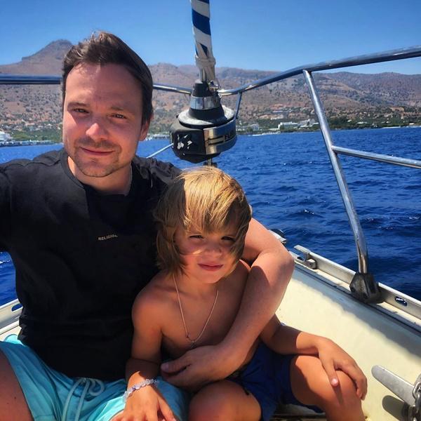 Алексей с сыном Федей