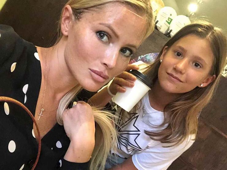 Дана Борисова с дочерью