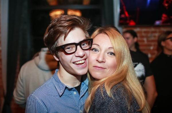 Егор с мамой