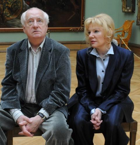 Марк Захаров и Александра