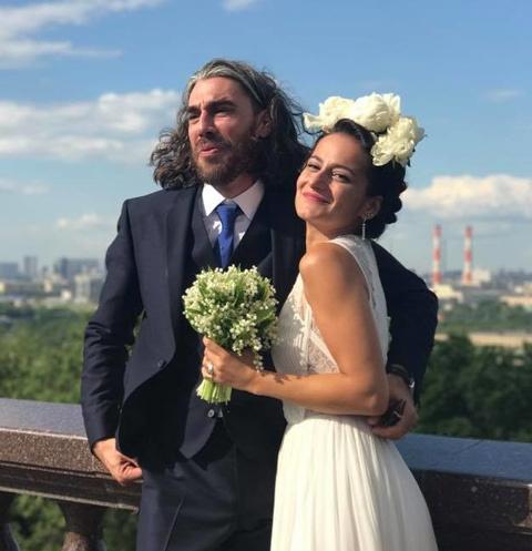 Татьяна Спивакова с мужем Томасом Маталу