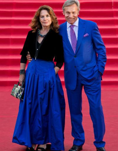 Алексей Пушков с супругой