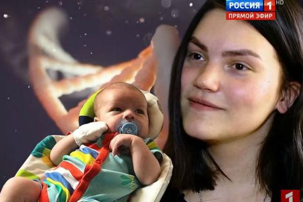 Фрейя Зильбер с правнуком Василия Шукшина