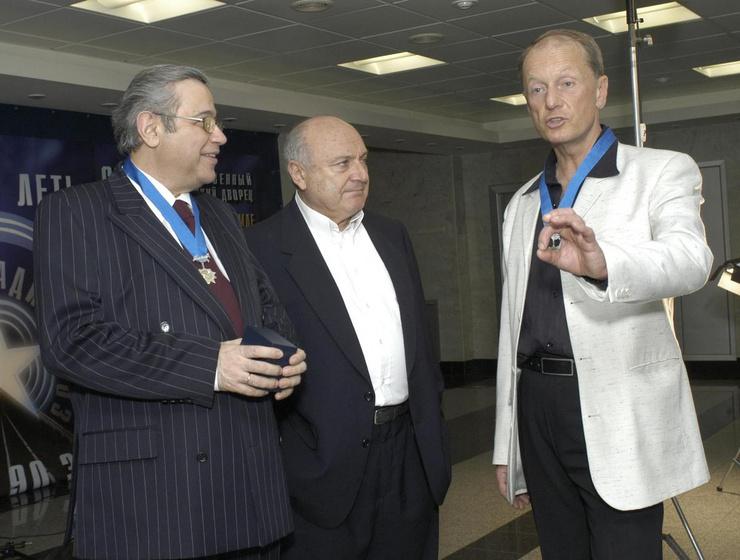 Евгений Петросян, Михаил Жванецкий и Михаил Задорнов