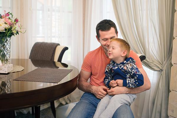 Трехлетний сын Кержакова Игорь недавно назвал Милану мамой
