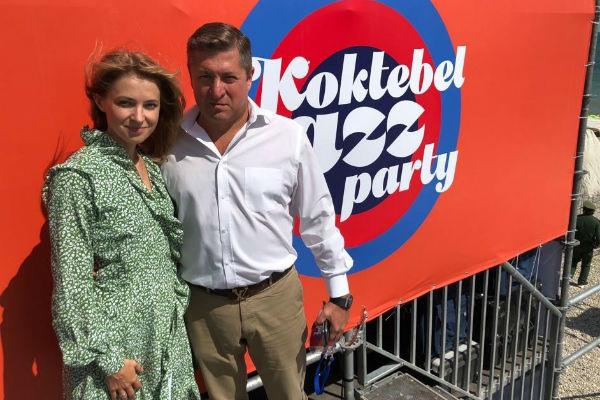 Наталья Поклонская с мужем Иваном Соловьевым