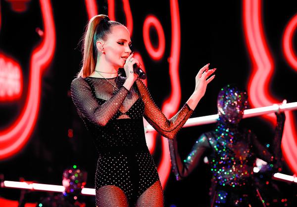 Певицу считают одной из самых сексуальных в нашем шоу-бизнесе