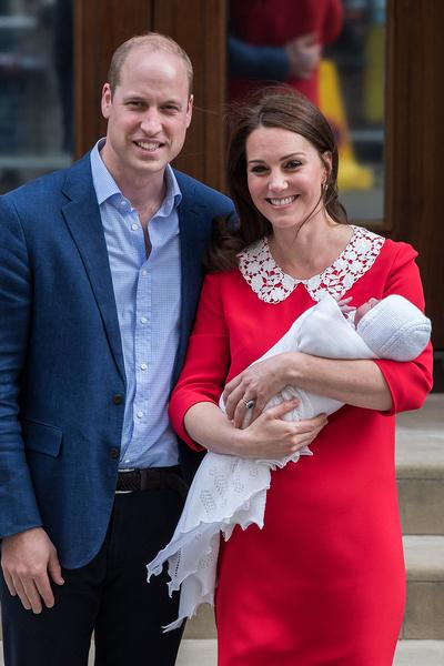 Кейт Миддлтон выписали из больницы в день родов