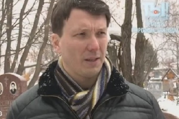 Внук Валентины Березуцкой Владимир